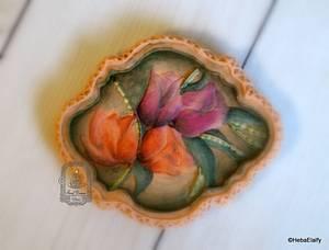 Bouquet of Tulips - Cake by Sweet Dreams by Heba