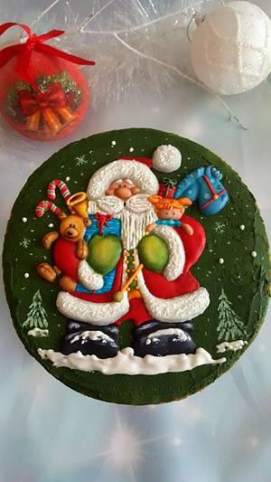 Santa Claus - Cake by Suzi Suzka