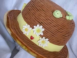 Summer straw hat - Cake by Trine Skaar