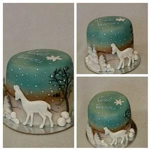 Chrismas cake  - Cake by Anka