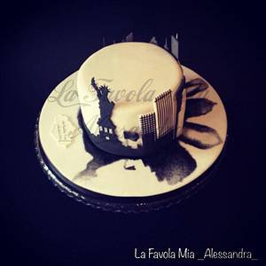 Waiting for New York - Cake by Alina