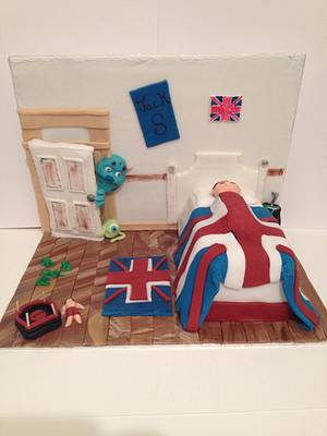 Jacks room  - Cake by Marie