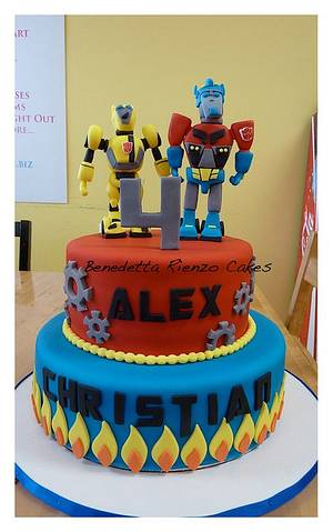 Transformers Cake - Cake by Benni Rienzo Radic