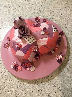 Hoppy 1st Birthday - Cake by Belle Amore Cakes