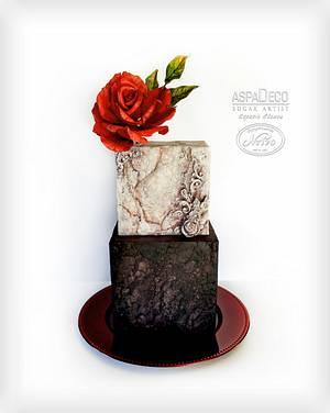 """Old Age Stone Cake"" - Cake by Aspasia Stamou"