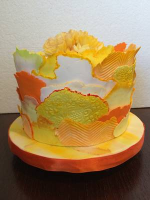 Sunny Nature - Cake by Belle Amore Cakes