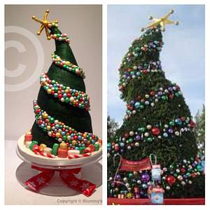 Whoville Christmas Tree  - Cake by blummysbakery