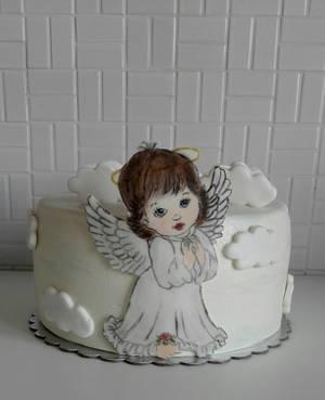 Angel - Cake by Anka