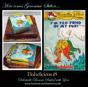 Geronimo Stilton Cake - Cake by Bakelicious18