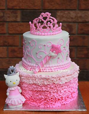 Hello Kitty Princess cake - Cake by The Little Cake Company