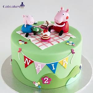 Peppa Pig - Cake by Catcakes