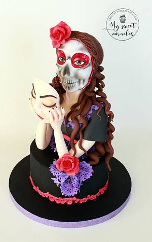 Sugar Skull Bakers Collaboration 2017 - Cake by My sweet miracles