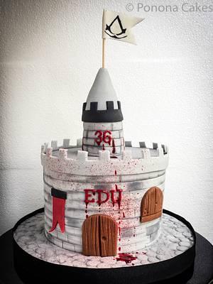 Assassins cake - Cake by Ponona Cakes - Elena Ballesteros