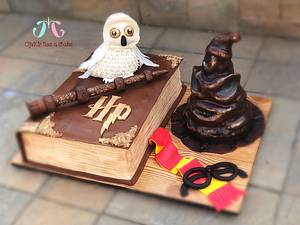 Harry Potter cake  - Cake by OMG! itss a cake