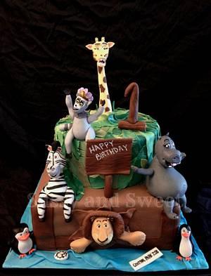 Madagascar Cake - Cake by Sassy and Sweet