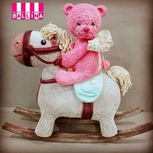 Rocking horsie - Cake by Flor menescaldi