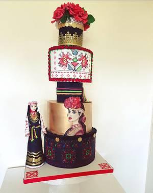 I ❤ Bulgaria  - Cake by DDelev