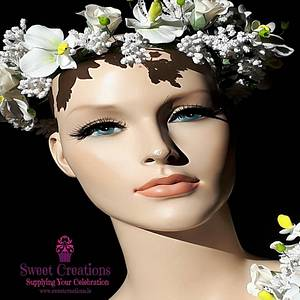 The World Of Sugar Flowers  A Tribute to Cancer - Cake by Sweet Creations