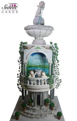 Italian renaissance Art :Cake designer world championship - Cake by Sweet Creations Cakes