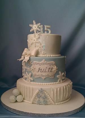 Winter Wonderland Cake - Cake by Nizelle Olivo