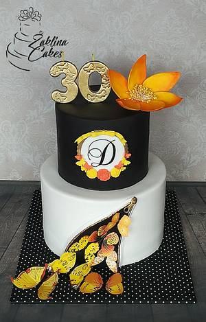 Buterflay cake - Cake by Zaklina