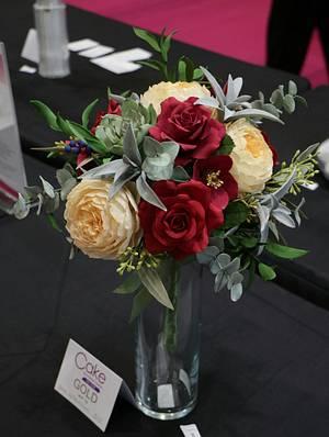 Wedding bouquet - Cake by Anka