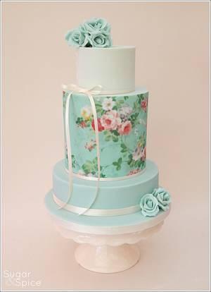 'Bella' Wedding cake - Cake by Sugargourmande Lou