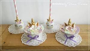 Cupcakes / CakePops Unicorn - Cake by Unique Cake's Boutique