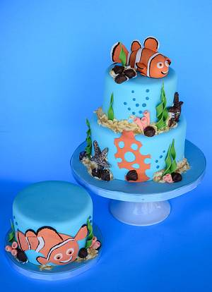 Nemo Cake - Cake by Sweet Creations by Sophie