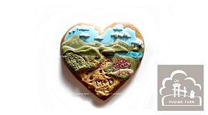 Landscape - hiking - Cake by PUDING FARM