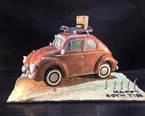 VW love - Cake by Zoe Byres