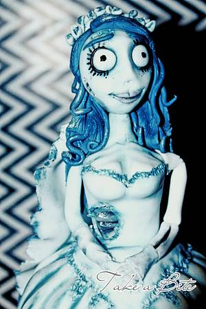 The Corpse Bride - Cake by Take a Bite