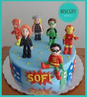 Super Sofi 2 - Cake by BISCÜIT Mexico