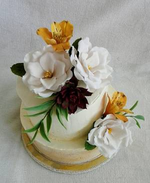 Birthday cake - Cake by Anka