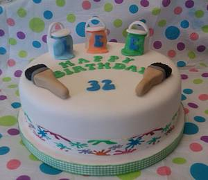 painter decorator - Cake by bootifulcakes