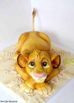 Simba Cake - Cake by Hannah