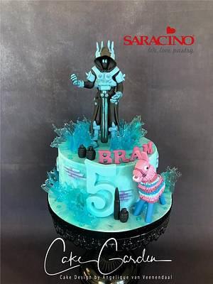 Fortnite cake Ice King - Cake by Cake Garden