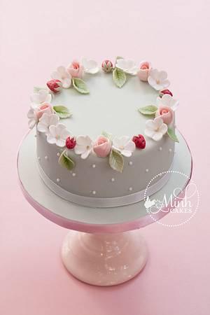 Romantic spring cake - Cake by Xuân-Minh, Minh Cakes