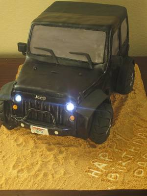 Jeep Cake - Cake by Cakes by Nella