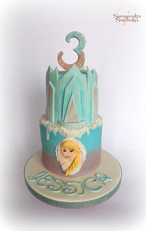 Frozen Elsa Cake - Cake by Spongecakes Suzebakes
