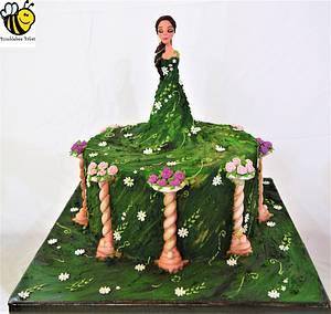 Eutierria - Cake by Bumblebee Bakes Goa