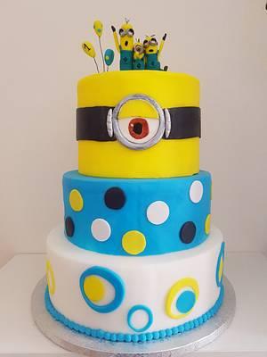 Minion cake - Cake by Alice in Cakeland