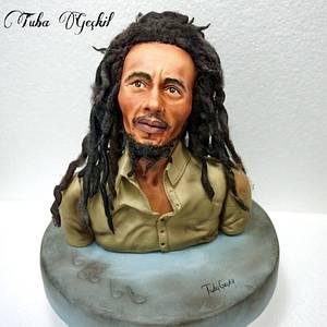 Bob Marley  fondant figure - Cake by Tuba Geçkil