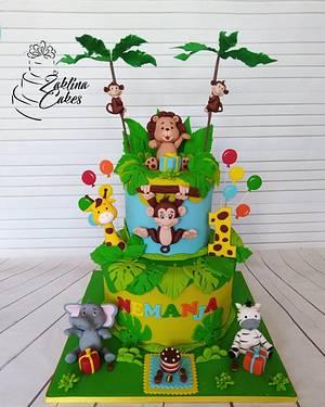 Jungle Cake - Cake by Zaklina