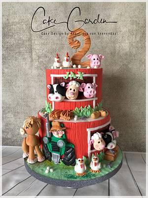 Farm cake - Cake by Cake Garden