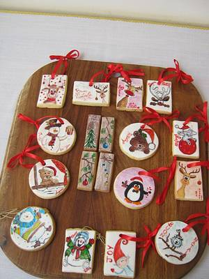 Xmas biscuits  - Cake by Tiziana Inn