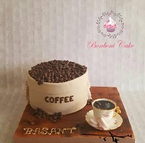 Coffee  - Cake by mona ghobara/Bonboni Cake