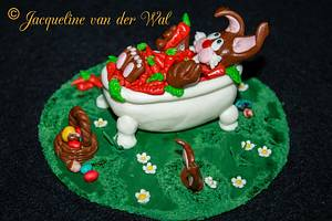 taking a vacation before easter starts - Cake by Jacqueline