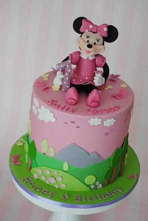 Sally Grace Minnie Mouse Cake - Cake by Torteneleganz