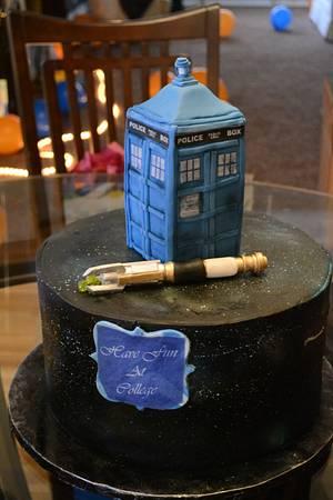 Doctor Who celebration Cake - Cake by Erica Parker